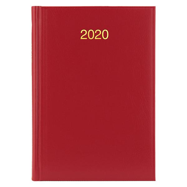 Ежедневник датированный 2020 BRUNNEN MIRADUR Стандарт 7956020 красный