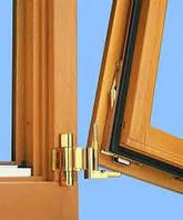 Комплект фурнітури на поворотно - відкидне дерев'яне вікно (лівий/правий)