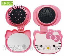 HBK-9072 Детская щетка для волос c зеркалом LUXURY