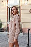 Женский вельветовый костюм: жакет и юбка (в расцветках), фото 2