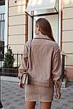 Женский вельветовый костюм: жакет и юбка (в расцветках), фото 3