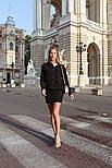 Женский вельветовый костюм: жакет и юбка (в расцветках), фото 6