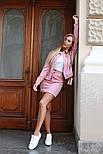 Женский вельветовый костюм: жакет и юбка (в расцветках), фото 8