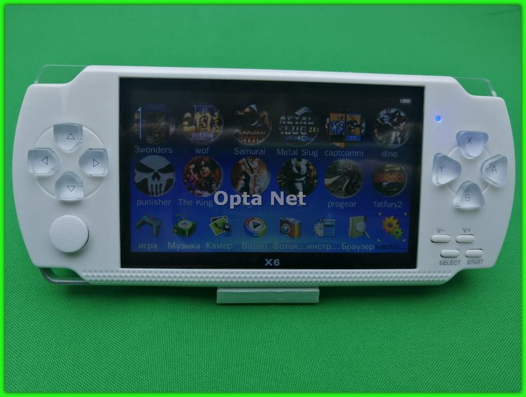 Ігрова приставка PSP X6 Білий