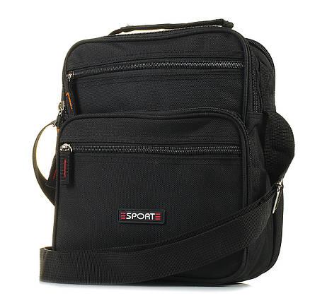 Мужская сумка через плечо черная 1043317728, фото 2