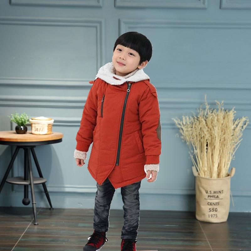 Детское пальто парка на мальчика