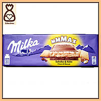 Шоколадка Milka, С бисквитом, 300 г.