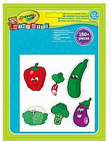 """Набір стікерів для малюків """"Овочі та фрукти"""" 1+ //"""