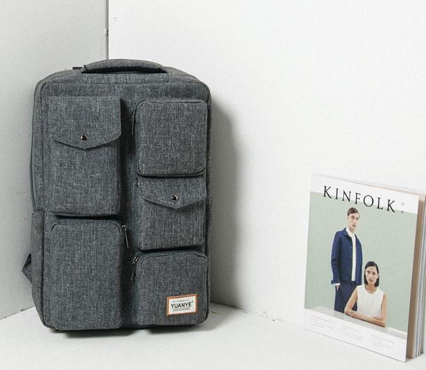 Городской рюкзак many pockets, удобный городской спортивный рюкзак