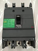 Автоматический выключатель 3p 125A EZC250 Schneider Electric
