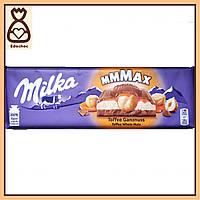 Шоколадка Milka, Тоффи и целый фундук, 300 г.