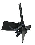 Окучник для мотоблока универсальный (с пяткой и увеличенным крылом), фото 2