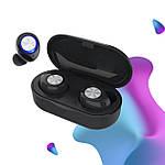Наушники беспроводные блютуз гарнитура Bluetooth наушники 5.0 Wi-pods TW60. Черные, фото 2