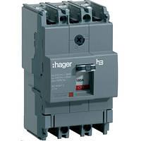 Автоматический выключатель x160 160А 3п 18kA HDA160L Hager