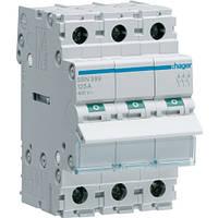 Выключатель нагрузки 3p 125А SBN399 Hager