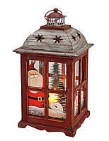 Фонарь ночник Рождество ручная роспись 22X22X40см 10055348