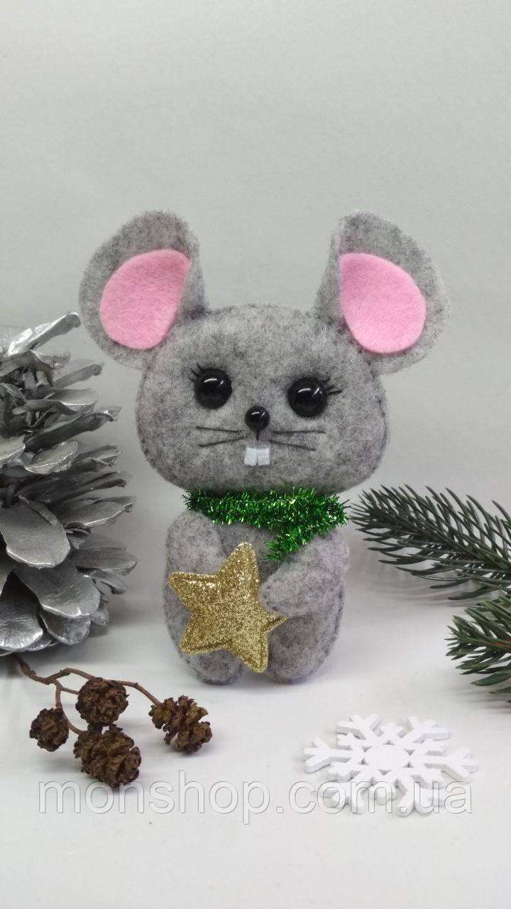 Мышка со  звездочкой (мальчик)