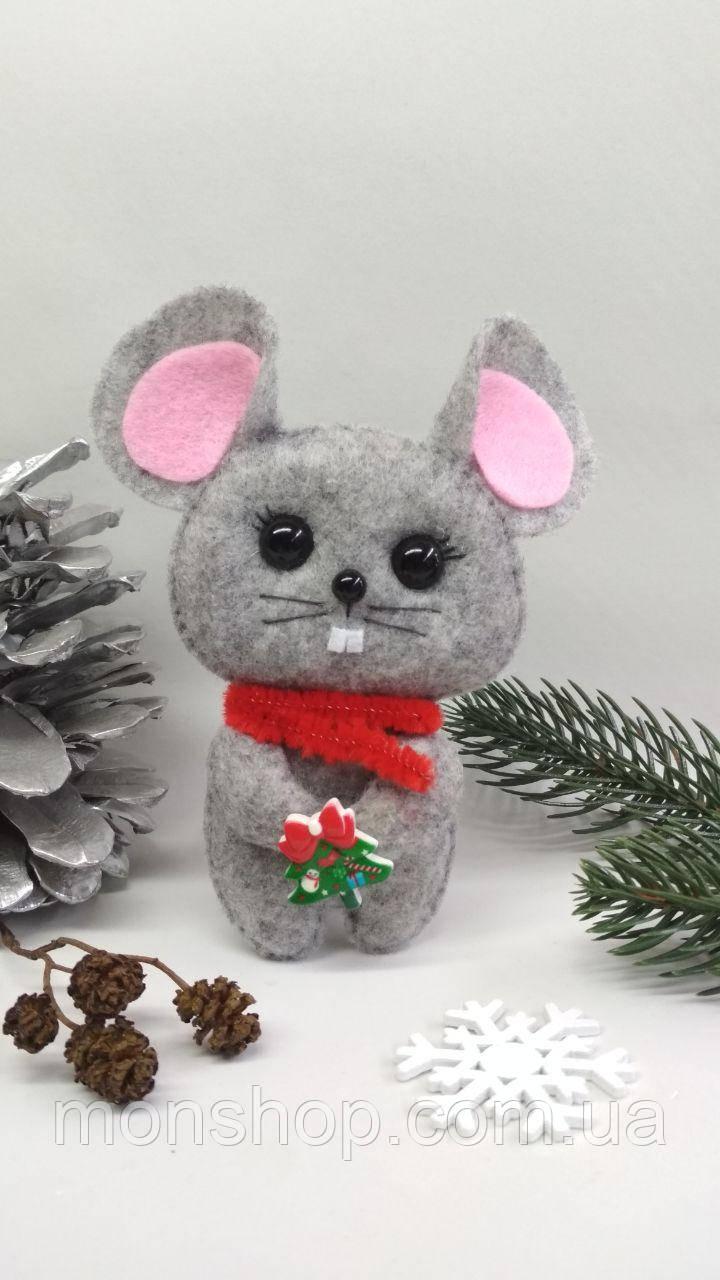 Мишка з ялинкою (хлопчик)