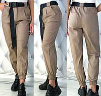 Женские модные брюки из стрейч - джинса