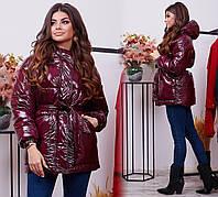 Женская модная куртка на осень - весну с 42 по 50 рр