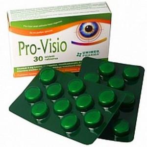 """БАД для зрения """"Про-Визио"""" - снимает раздражение и усталость глаз (30табл.,Словения)"""