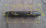 Гидроцилиндр 2-х-стороннего действия DW 160HX, фото 2