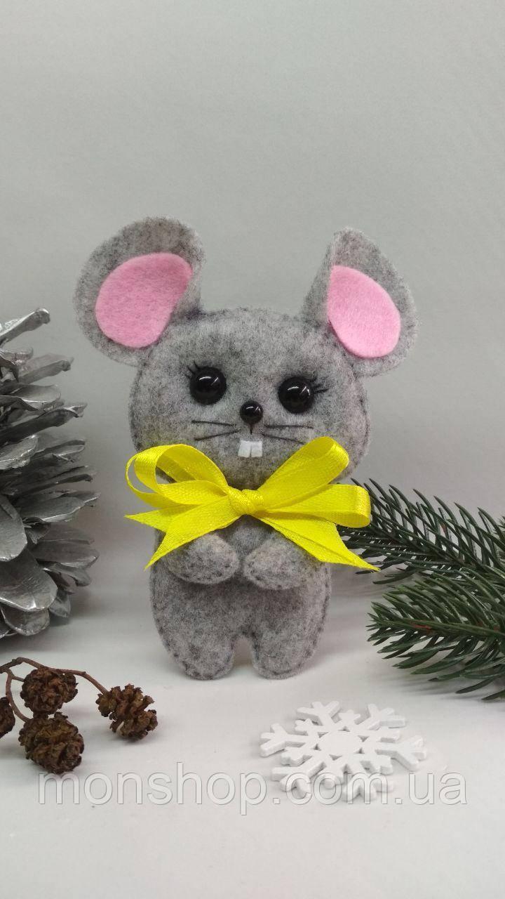 Мышка с бантиком