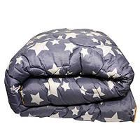 Одеяло Главтекстиль шерстяное 145/210 звезды