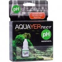 AQUAYER тест рН - тест на кислотность воды в аквариуме