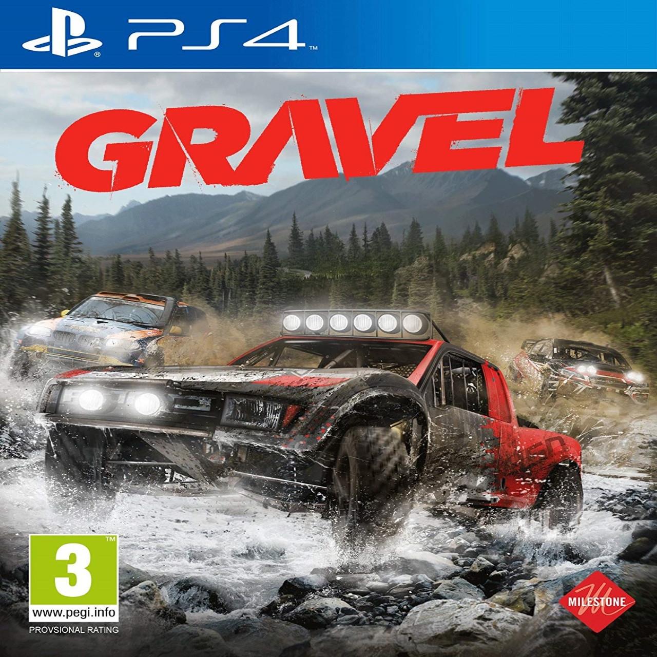 Gravel (английская версия) PS4
