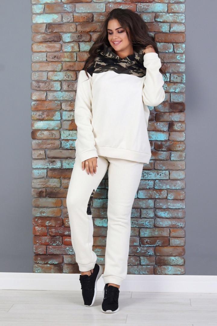 Женский теплый прогулочный костюм  ЕС813 (норма)