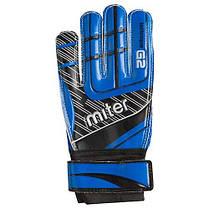 Вратарские перчатки Latex Foam MITER, размер 5, желтый, синий GG-LMR5, фото 3