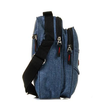 Мужская сумка через плечо синяя / чоловіча сумка через плече синя 1043334925, фото 2