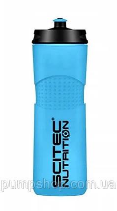 Пляшка для води Scitec Nutrition Bike bottle 650 мл блакитна, фото 2