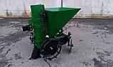 Картофелесажалка для мотоблока П-1Ц (зеленая), фото 3