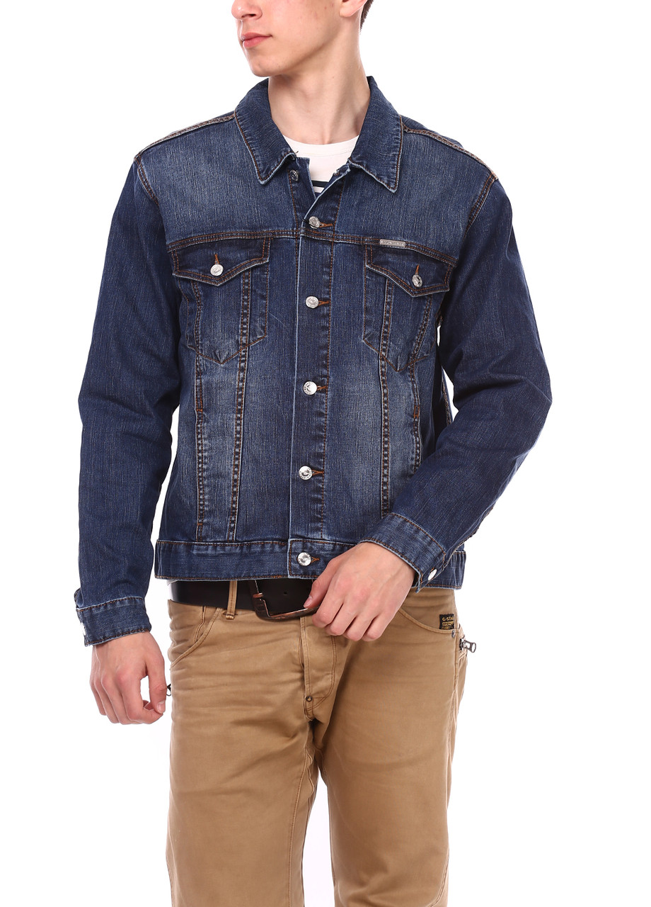 Джинсовая куртка Montana 12054 Middle Blue