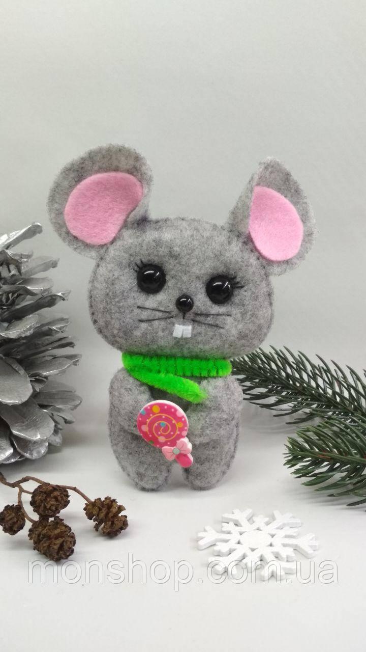 Мишка з цукеркою (хлопчик)