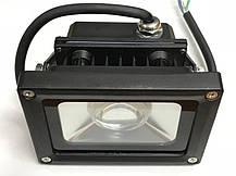 Светодиодный линзованый фитопрожектор SL-10GLens 10W IP65 (full fito spectrum led) Код.59096, фото 3