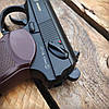 Пистолет пневматический SAS Makarov KM-44 + 5 CO2 + 650 BB 4.5 мм, фото 4