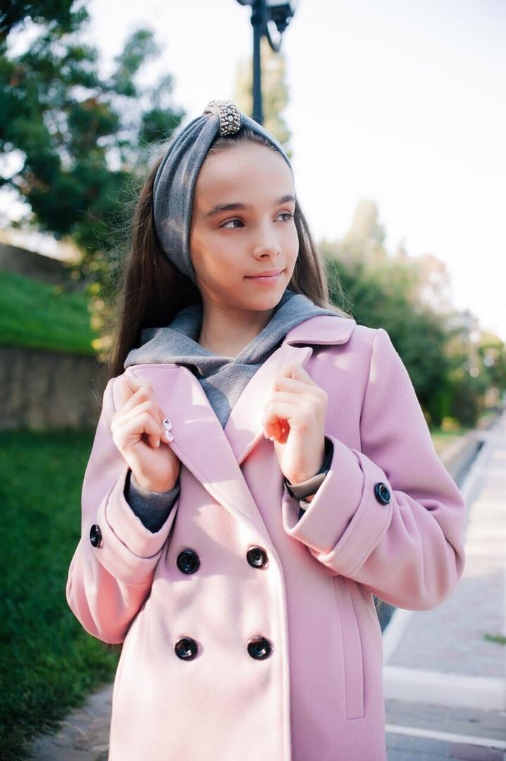 Пальто-пиджак LiLove 460 146 розовый