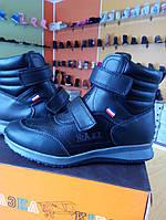 Демисезонные ботинки для мальчика Сказка 34, 35, 37 р