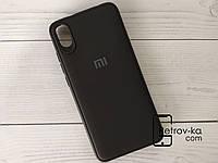 Чехол для смартфона Xiaomi Redmi 7A матовый черный
