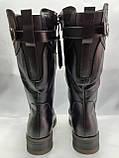 Зимние кожаные комфортные полусапожки Romax, фото 6