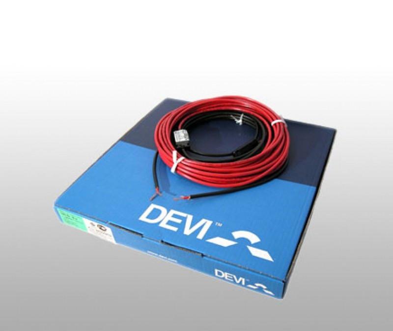 Нагревательный одножильный экранированный кабель DEVIbasic 20S