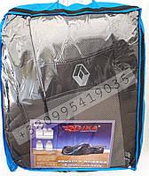 Чехлы Renault Trafic II 1+2 2001- с подлокотником Nika модельные комплект на передние сидения Рено Трафик 2