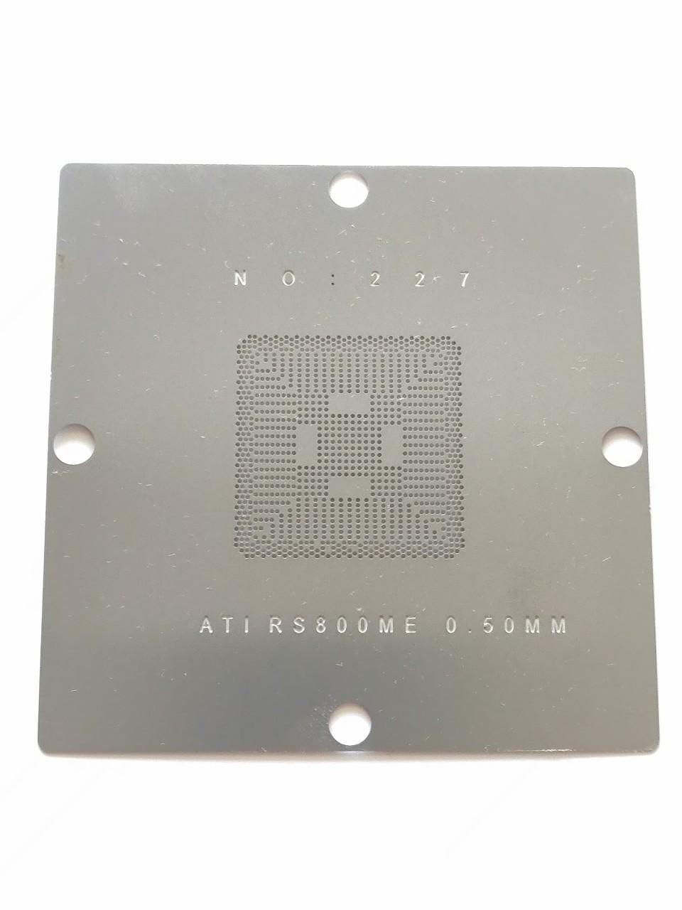 Трафарет BGA ATI RS800ME/RS600ME, 90*90 мм