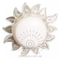 Ночник Lemanso Солнце белый 4 LED / NL8
