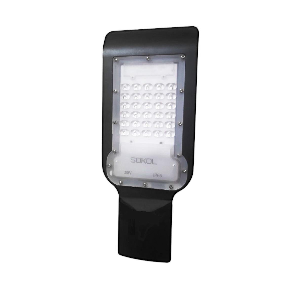 Светильник уличный столбовой 30W SOKOL LED-SLN