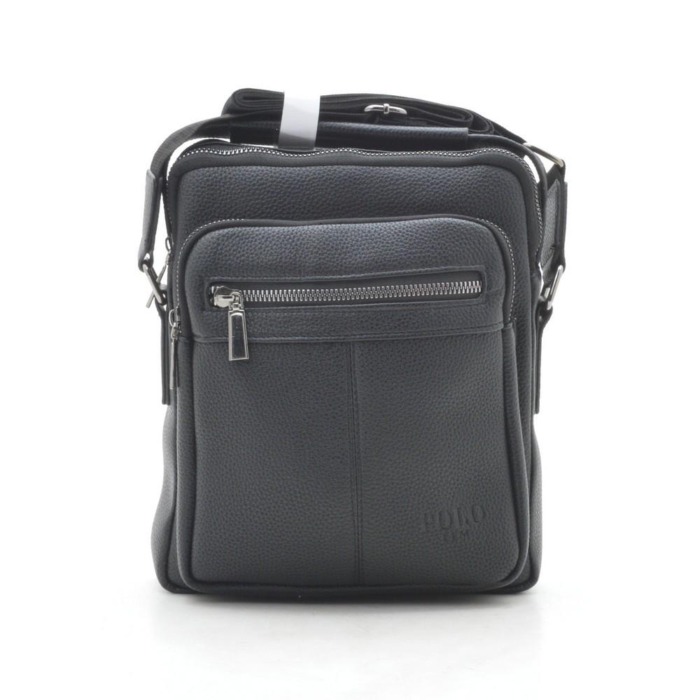 Мужская сумка черная через плечо 186393