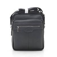 Мужская сумка черная через плечо 186396, фото 1